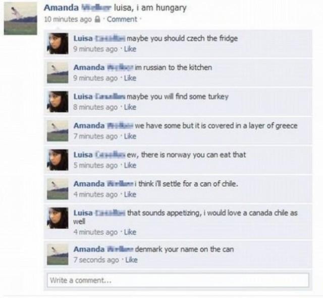 Funny Facebook Status Update Fails | Speedball*Zee