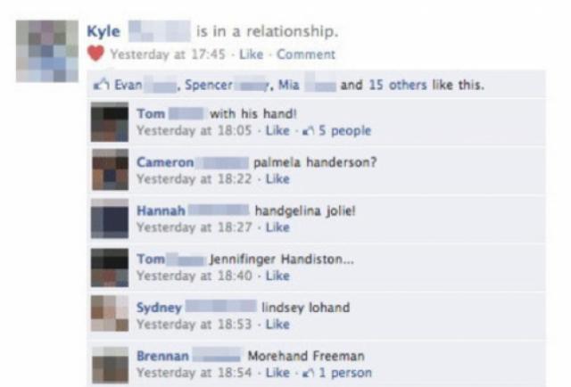 funny relationship status updates facebook