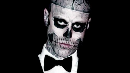 Rick Genest Is Way Hotter As a Zombie | Speedball*Zee