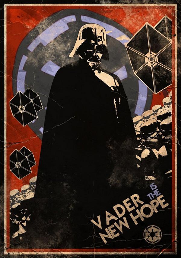 Star Wars Propaganda Posters Speedball Zee